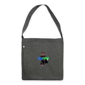 catFoxy's Merch - Schultertasche aus Recycling-Material