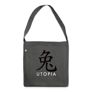 Utopia - Mr. Rabbit - Bandolera de material reciclado
