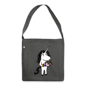Unicorn Dancer - Shoulder Bag made from recycled material