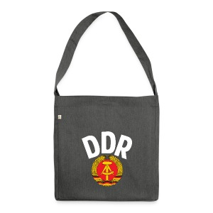 DDR - German Democratic Republic - Est Germany - Shoulder Bag made from recycled material