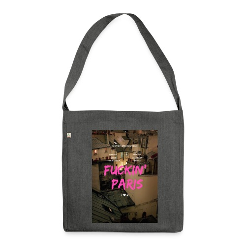 Promotional poster - Shoulder Bag made from recycled material