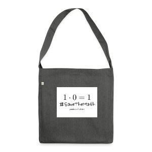#SaveTheMath_1 - Borsa in materiale riciclato