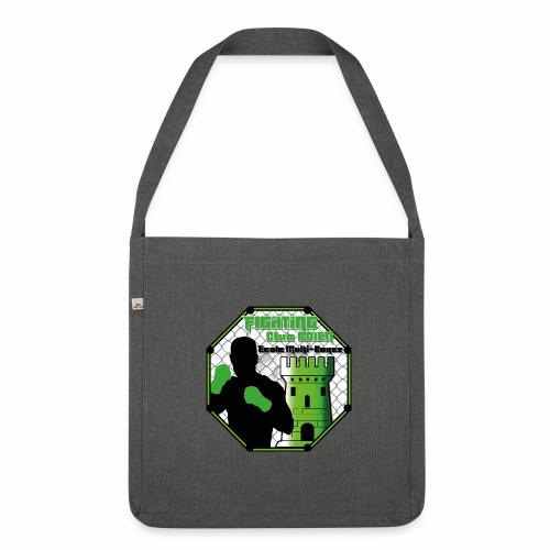 logo simple - Sac bandoulière 100 % recyclé