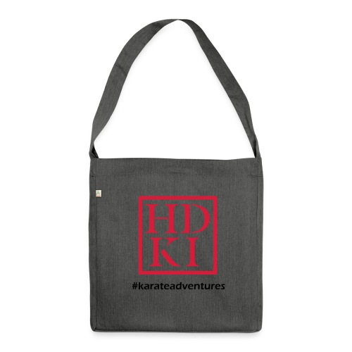 HDKI karateadventures - Shoulder Bag made from recycled material
