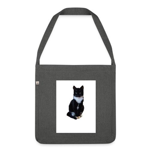 Cat.Nina2017 - Schultertasche aus Recycling-Material
