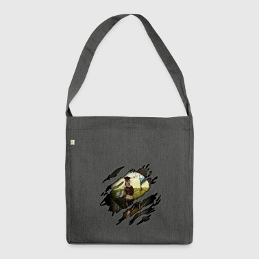 Witch in me - Shoulder Bag made from recycled material