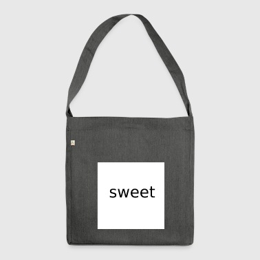 sweet - Shoulder Bag made from recycled material