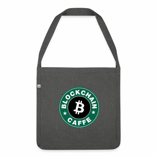 BlockChain Caffè Logo - Borsa in materiale riciclato