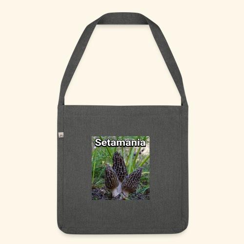 Colmenillas setamania - Bandolera de material reciclado