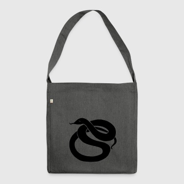 Snake - Shoulder Bag made from recycled material