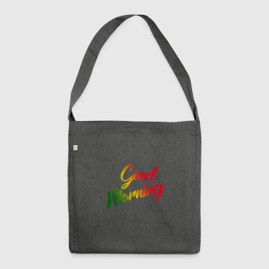 Goodmorning - Schultertasche aus Recycling-Material