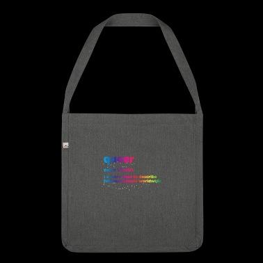 Queer - Torba na ramię z materiału recyklingowego