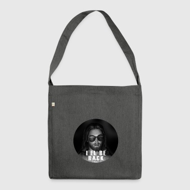 Jesus I'll Be Back Religious Christian Gift - Shoulder Bag made from recycled material