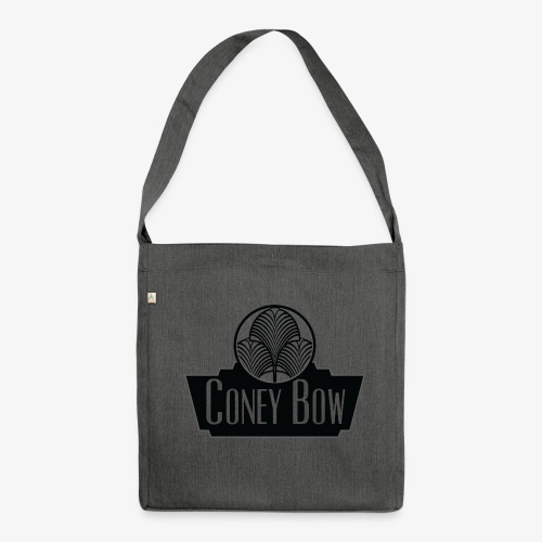 Coneybow logo - Sac bandoulière 100 % recyclé