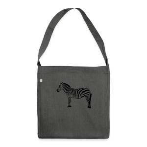 Premium Hoodie Woman | I am a freaking ZEBRA - Shoulder Bag made from recycled material