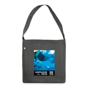 Camouflage Marine – Muskoka Collection 1708 - Schultertasche aus Recycling-Material