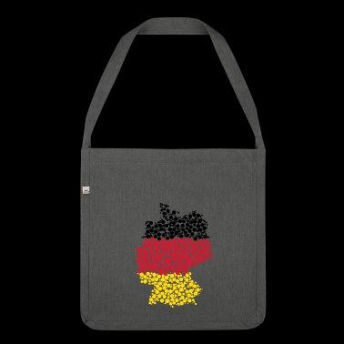 Deutschland - Schultertasche aus Recycling-Material