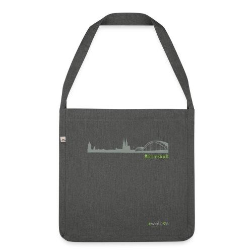 welove KÖLN #domstadt - Schultertasche aus Recycling-Material