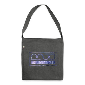 Mug logo purple - Shoulder Bag made from recycled material