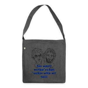 Mutha Ucka Flight of the Conchords - Shoulder Bag made from recycled material