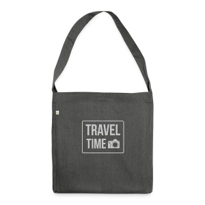 Travel time - Shoulder Bag made from recycled material