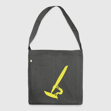 sport windsurfing - Shoulder Bag made from recycled material