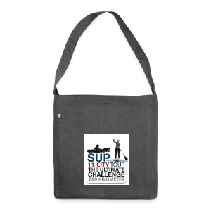 SUP11 City Tour Logo Shirt - Shoulder Bag made from recycled material