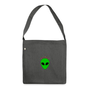 Logo_Alien - Borsa in materiale riciclato