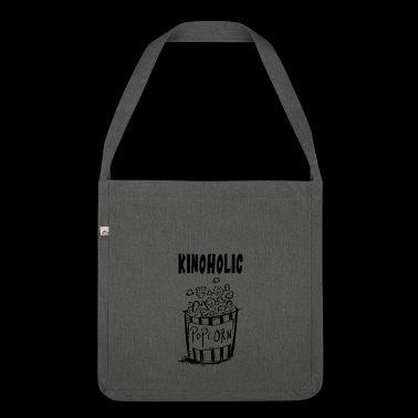 Kinoholic Popcorn - Bioscoop - Film - Gift - Schoudertas van gerecycled materiaal