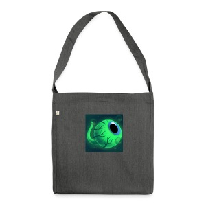 SamSepticEye01 - Shoulder Bag made from recycled material