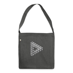 The Penrose - Shoulder Bag made from recycled material
