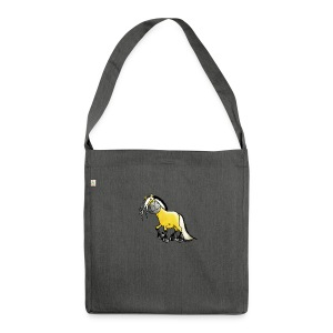 fjord_horse-png - Shoulder Bag made from recycled material