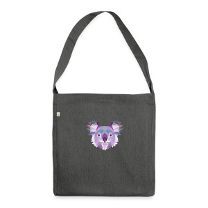 Triangle vector koala - Borsa in materiale riciclato