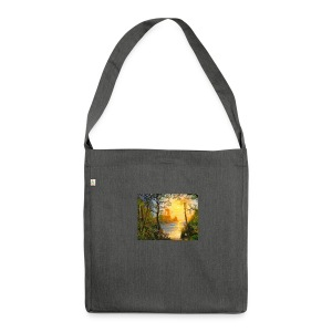 Temple of light - Shoulder Bag made from recycled material