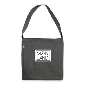 MOIN.LAND - Schultertasche aus Recycling-Material