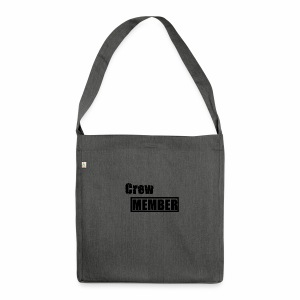 crew member - Schultertasche aus Recycling-Material
