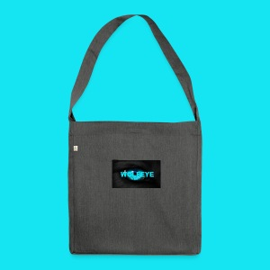 WolfEye T-Shirt - Shoulder Bag made from recycled material