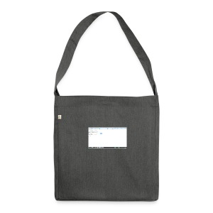 order-resp-png - Schultertasche aus Recycling-Material