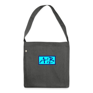 AtoB Logo light blue - Shoulder Bag made from recycled material