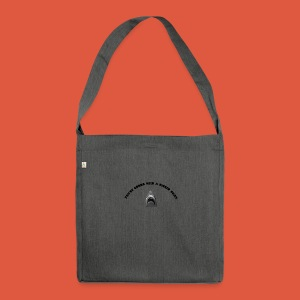 Jaws - Shoulder Bag made from recycled material