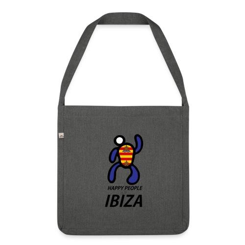 Happy People of Ibiza - Schoudertas van gerecycled materiaal