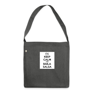 keep-calm-and-baila-salsa-41 - Borsa in materiale riciclato