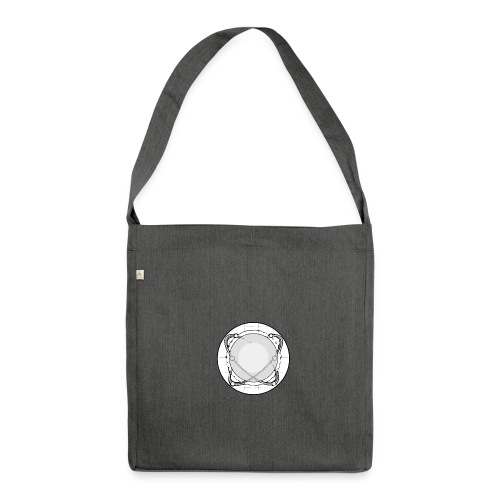 ISAC Logo - Schultertasche aus Recycling-Material