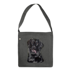 flatcoated retriever p - Skuldertaske af recycling-material