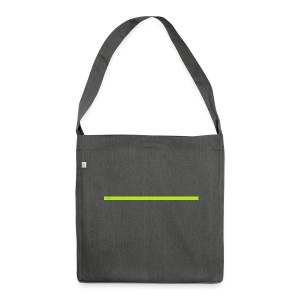AFK for when you are away from keyboard - Shoulder Bag made from recycled material