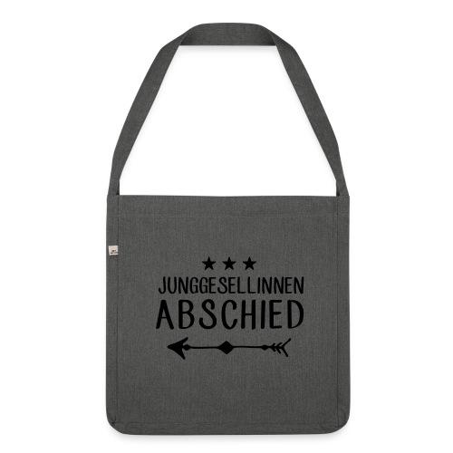 Junggesellinnen Abschied - JGA T-Shirt Team Braut - Schultertasche aus Recycling-Material
