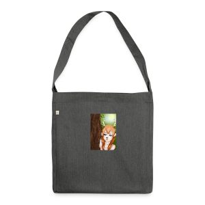 Sam sung s6:Deer-girl design by Tina Ditte - Shoulder Bag made from recycled material