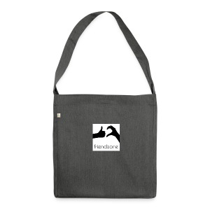 friendzone - Schultertasche aus Recycling-Material