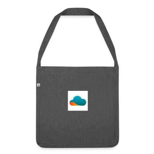 Top World Cloud - Schultertasche aus Recycling-Material