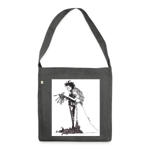 EdwardScissorhands.jpg - Shoulder Bag made from recycled material